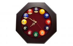 Часы OCTO, 40x40 см, бургунди