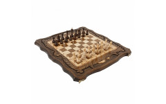 Шахматы + Нарды резные c Араратом 50 Haleyan