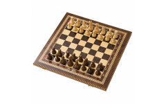 Шахматы инкрустация 40 AZ104 Zeynalyan