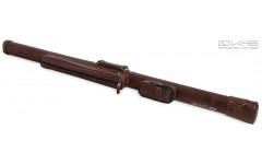 Тубус QK-S Artillery 1x1 3/4 коричневый аллигатор