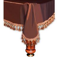 Покрывало Венеция 12фт шёлк коричневое