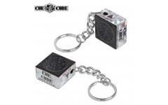 Брелок-инструмент для обработки наклейки Cue Cube черный