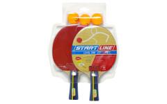 Набор теннисный ракетки Level 200 2шт, мячи Club Select 3шт