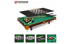 Бильярдный стол Fortuna Пул 3фт 4 в 1 с комплектом аксессуаров
