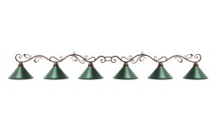 Лампа на шесть плафонов
